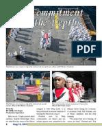 USS John W. Weeks DD-701 crew member buried at Sea