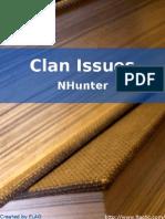 NHunter - Clan Issues