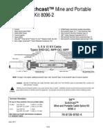 Kit Empalme 3M Resina Mineria 8096-2