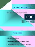 Control Motores Induccion