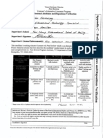 professional attributes and dispositions verification