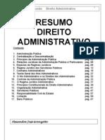 administrativo - resumo