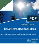 Barometro 2013 - Santiago