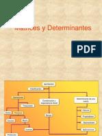 Matrices y Determinantes Xxxxxxxxx