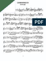Kreisler Liebesfreud Liebesleid Violin