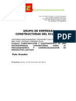 IOED Business Project Plan Template10-22-12-2 (1) Planta Procesadora de productos lácteos