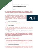 Exercicios analise de sistemas - Edilson José Santos