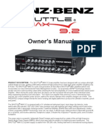 Genz Benz Shuttlemax 9.2 Bass Amp Manual