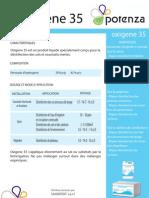 POTENZA Oxigene 35