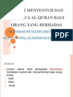 149310211 Hukum Pegang Dan Baca Quran Ketika Berhadas