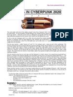 Cyberpunk 2020 - Calibertable