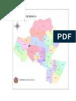 mapa baraya