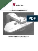 Singer Steam Press CSP1