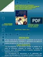 diapositivainvdeoperaciones-100118213202-phpapp01