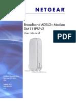 Manual Modem Netgear Adsl2