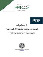 Algebra EOC