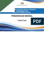 Dokumen Standard Pend. Moral Tahun 3