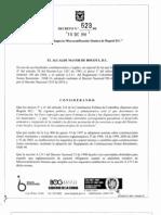 Decreto 532 de 2010