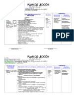Planificacion de Didactica de Ccnn