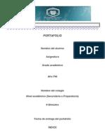Portafolio 2011-2012