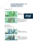 BRAZIL COINS AND BANKNOTES FOR SALE US$1.00 = R$ 1,00