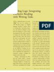 English Teaching Forum (2011) - Reading Logs