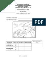1° examen B4-YANI