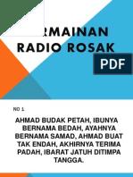 Permainan Radio Rosak
