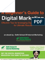 A Biginner Guide to Digital Marketing