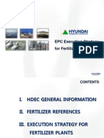 EPC Hyundai Project Structure - Fertilizer Plan