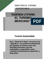 Agenda 21 Para El Turismo en Mexico - Copia
