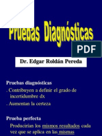 Pruebas Diagnosticas y Medidas de Riesgo en Salud