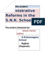 Administrative Reforms[1]