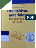 Los Archivos Notarialles q Son Como Se Tratan_pagarolas
