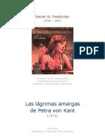 Fassbinder, Rainer Werner - Las amargas lágrimas de Petra von Kant