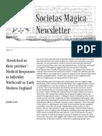 Societas Magica - SMN Spring 2012 Issue 27