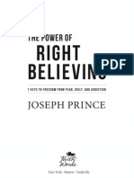 The Power Of Right Believing (Chapter 1)