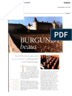 Burgundy's Treasure Trove