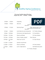 diocese healthy aging conference agenda-8-28-13