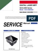 Samsung Digital Laser MFP SCX-4300 Series Parts and Service Manual