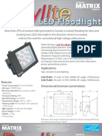 Solar powered LED lighting system