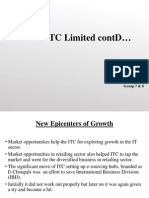 ITC Limited (New Epicenters of Growth)