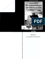 Rolando García - Concocimiento en construcción. De las formulaciones de Jean Piaget a la teoría de sistemas