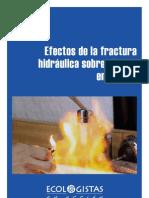 Informe Fracking Agua 2012