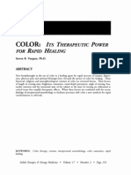 COLOR Its Therapeutic Power for Rapid Healing; Steven Vazquez (Vol 17 No 2)