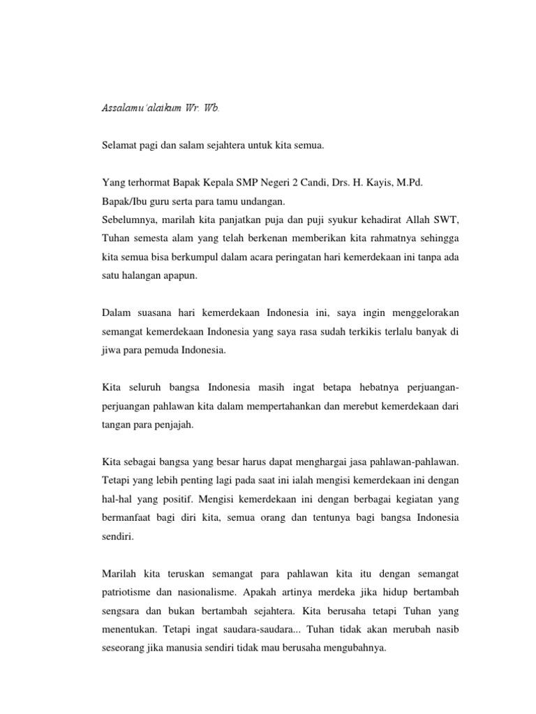Contoh Puisi Singkat Tentang Hari Kemerdekaan Brad Erva Doce Info