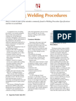 Review Welding Procedures