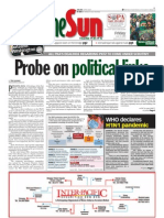 thesun 2009-06-12 page01 probe on political links