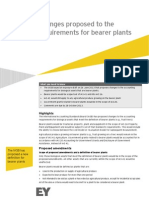 EY IFRS Developments Changes Proposed to the Requirements for Bearer Plants