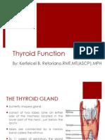 Thyroid Ppt.